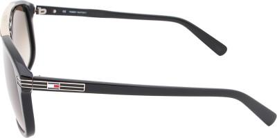 Tommy Hilfiger TH 7845 C2 55 S Wayfarer Sunglasses(Brown) at flipkart