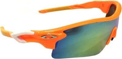 Eye Jewels Sports Sunglasses(Blue, Green) at flipkart