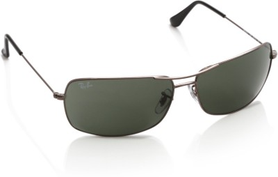 Ray-Ban Rectangular Sunglasses(Green)