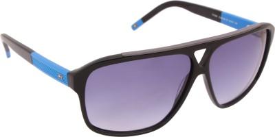 Tommy Hilfiger TH 7855 Blkbl-33 C2 61 S Rectangular Sunglasses(Violet) at flipkart