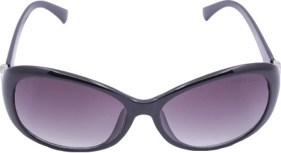 Miami Blues Oval Sunglasses(Blue) at flipkart