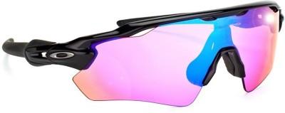 Oakley Rectangular Sunglasses(Pink)