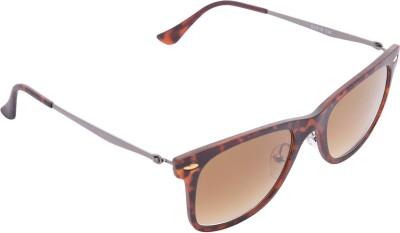 Provogue Wayfarer Sunglasses(Brown) at flipkart
