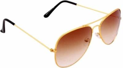 SR 555 Aviator Sunglasses(Brown)