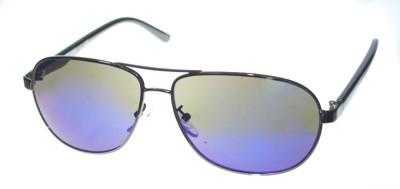 Kenneth Cole Aviator Sunglasses(Violet) at flipkart