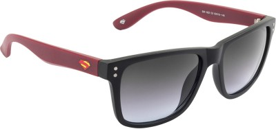 Superman Wayfarer Sunglasses(Grey) at flipkart