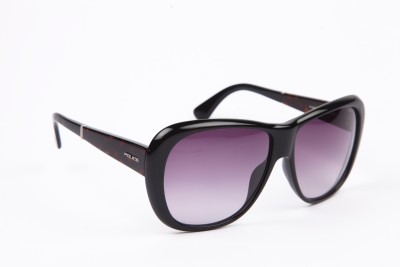 Police Over-sized Sunglasses(Grey) at flipkart
