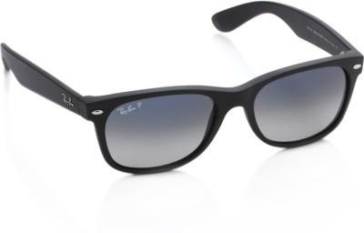 Ray-Ban Rectangular Sunglasses(Grey) at flipkart