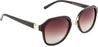 Farenheit Over-sized Sunglasses(Brown) at flipkart