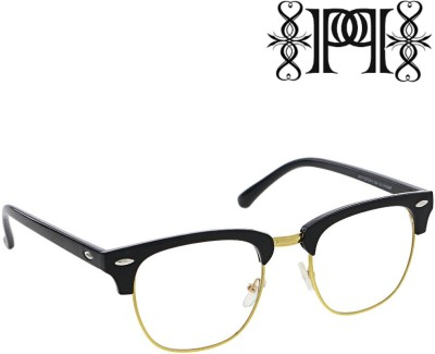 Poloport Wayfarer Sunglasses(Clear, Black)