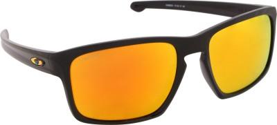 Oakley Wayfarer Sunglasses(Yellow, Orange)