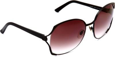 GUCCI GG 2861/S 65Z Rectangular Sunglasses(Brown) at flipkart