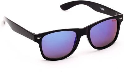 Beqube Wayfarer Sunglasses(Blue) at flipkart