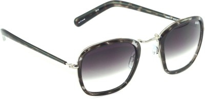 IDEE Rectangular Sunglasses(Black, Grey)