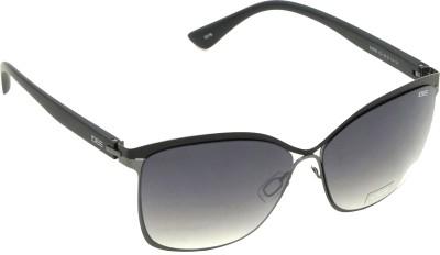 IDEE Rectangular Sunglasses(Black)