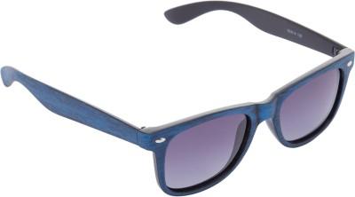 Cristiano Ronnie Wayfarer Sunglasses(Black) at flipkart