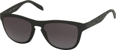 Calvin Klein Oval Sunglasses(Grey) at flipkart