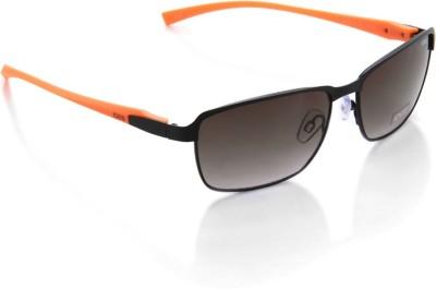 IDEE Rectangular Sunglasses(Grey)
