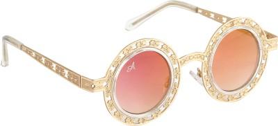 Amaze Round Sunglasses(Orange)