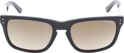 Tommy Hilfiger Wayfarer Sunglasses(Green) at flipkart