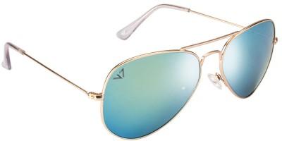 Vincent Chase Aviator Sunglasses(Yellow)