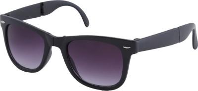 Petrol Wayfarer Sunglasses(Violet) at flipkart