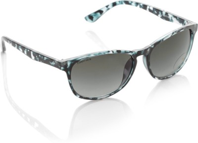 Fastrack Oval Sunglasses(Grey)
