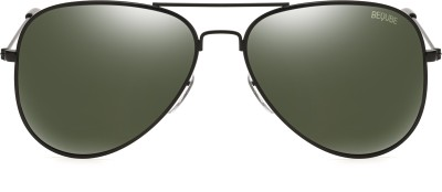 Rapstar Aviator Sunglasses(Green) at flipkart