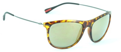 IDEE Wayfarer Sunglasses(Multicolor, Golden)