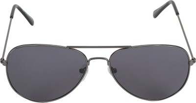 The Brandstand Aviator Sunglasses(Blue)