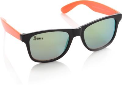 FIFA Wayfarer Sunglasses(Green) at flipkart