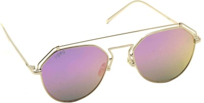I-GOG Aviator Sunglasses(Pink, Multicolor) at flipkart