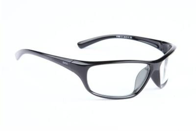 IDEE Wrap-around Sunglasses(Clear)