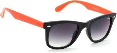IDEE Wayfarer Sunglasses(Black, Green)