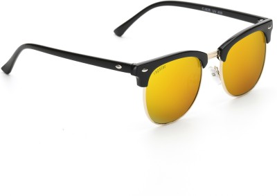 Rapstar VIRAJTRENDS05 Wayfarer Sunglasses(Golden) at flipkart