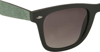 French Connection Wayfarer Sunglasses(Brown) at flipkart