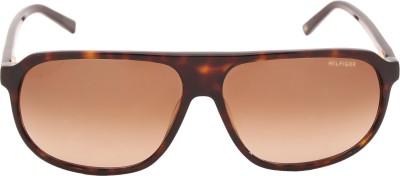 Tommy Hilfiger TH 7833 C3 60 S Rectangular Sunglasses(Brown) at flipkart