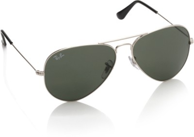2edb09df6ef Ray Ban RB3025I 003 58 Aviator Sunglasses Green available at Flipkart for  Rs.4768