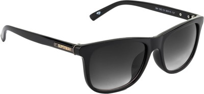 Superman Wayfarer Sunglasses(Brown) at flipkart