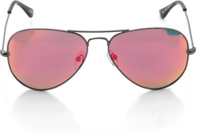 IDEE Aviator Sunglasses(Red)