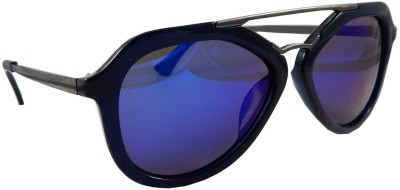 Els Aviator Sunglasses(Blue)