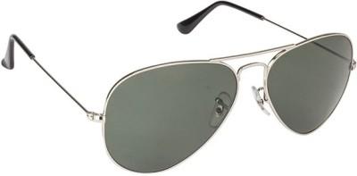 Zaira Diamond Aviator Sunglasses(Black)