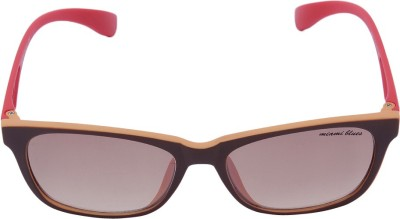 Miami Blues Wayfarer Sunglasses(Pink) at flipkart