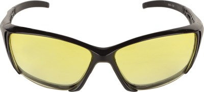 Justin Wrap-around Sunglasses(Yellow)