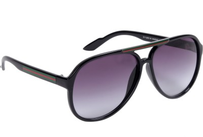 Ted Smith Aviator Sunglasses(Grey)