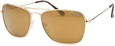 Kenneth Cole Rectangular Sunglasses(Brown) at flipkart