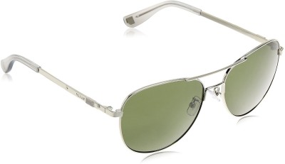 Bally Oval Sunglasses(Green) at flipkart