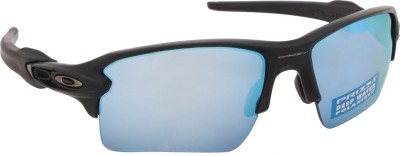 84e56f1844 Oakley 0OO918891885859 Sports Sunglasses Blue available at Flipkart for  Rs.9690
