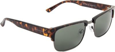 Farenheit Rectangular Sunglasses(Green) at flipkart