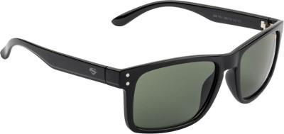 Superman Rectangular Sunglasses(Green) at flipkart